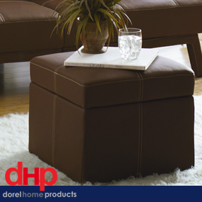 brown ottoman delany