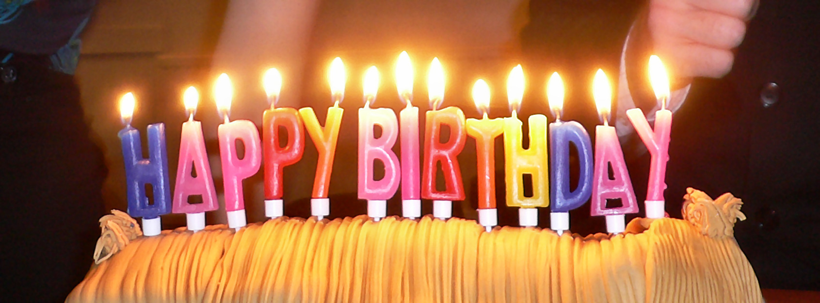 Here are some birthday candles you can blow to make your birthday