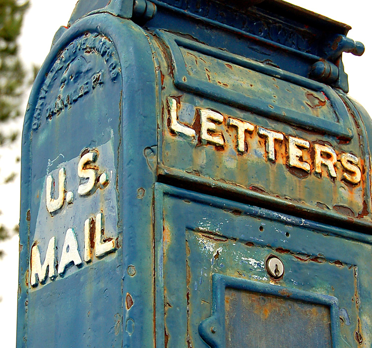 Old letter boxes on pinterest letter boxes mail boxes for What to do with old mailbox