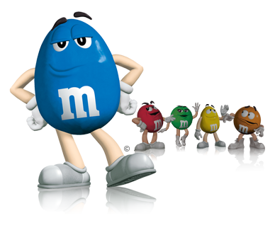 Are you still annoyed by blue M & M's?