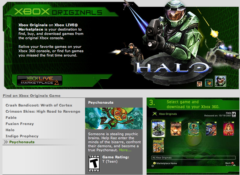Original Xbox Games On Xbox 360 : Download ripped xbox games corpssite