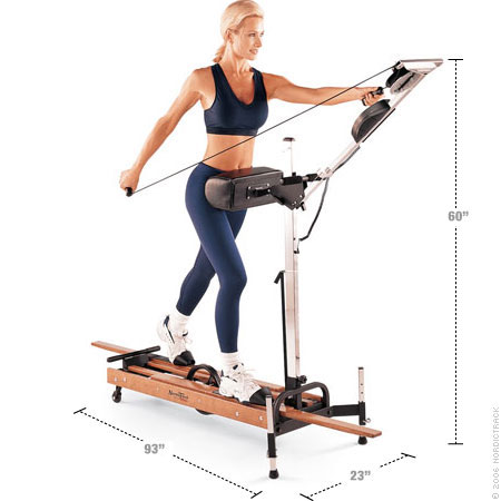ski machine exercise equipment