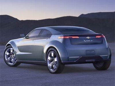 Фото Chevrolet Volt Concept.