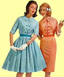 If you were going to dress like a typical woman from the 1960 s in the