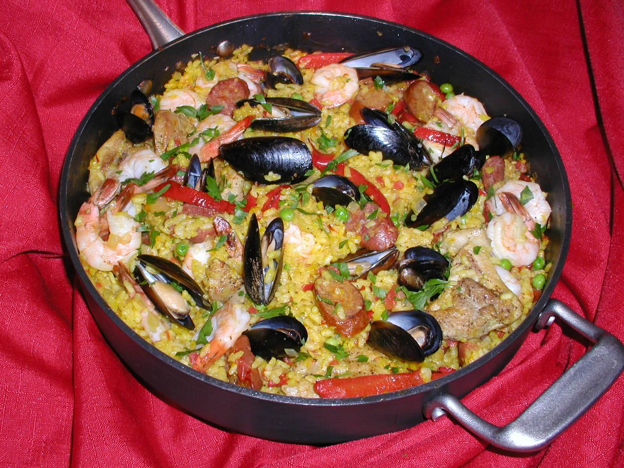Rice Spanish Dishes Spanish Dish The Rice is