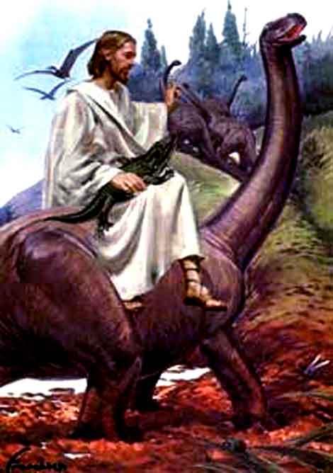 http://g-ecx.images-amazon.com/images/G/01/askville/5923700_7775834_mywrite/jesus_with_dinosaur.jpg