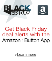 Get Black Friday deal alerts with the Amazon 1Button App