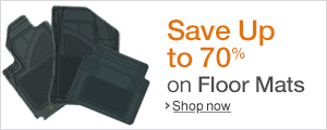 Save Up to 70% on Floor Mats