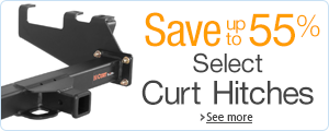 Up to 55% Off Select Curt Hitches