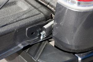 Amazon Com Master Lock 8253dat Tailgate Lock Automotive