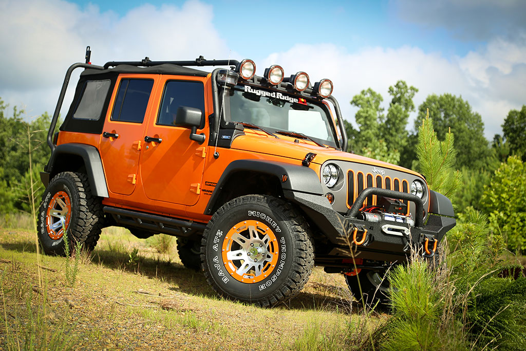 Four Legged Bloggers Enter to win a Tricked Out Jeep Wrangler