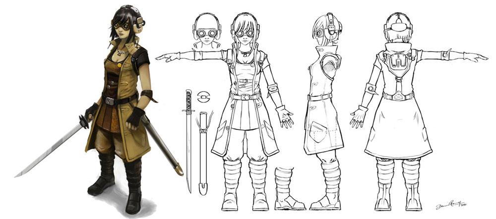 Blender Character Modeling For Games : Character development in blender