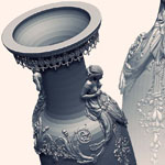 Secrets of ZBrush Experts art - Vase