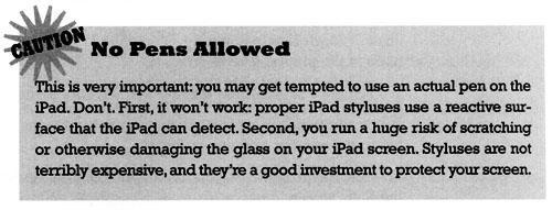 iPad For Kids Caution Box