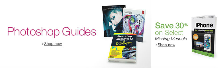 Photohop Guides and 30% Off Select Missing Manuals