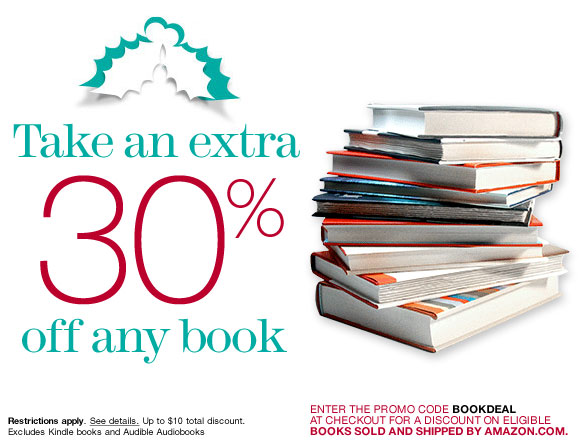 Take 30 percent off any book
