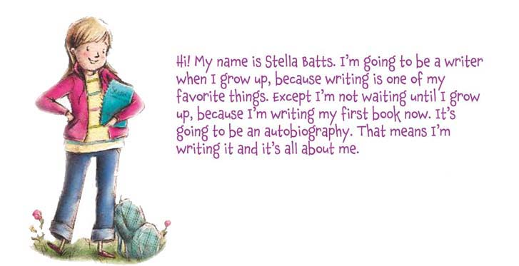 """Hi! My name is Stella Batts."""
