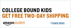 Free Two-Day Shipping for College-Bound Kids from Amazon Student