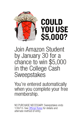 Join Amazon Student by January 30 for a Chance to Win $5,000