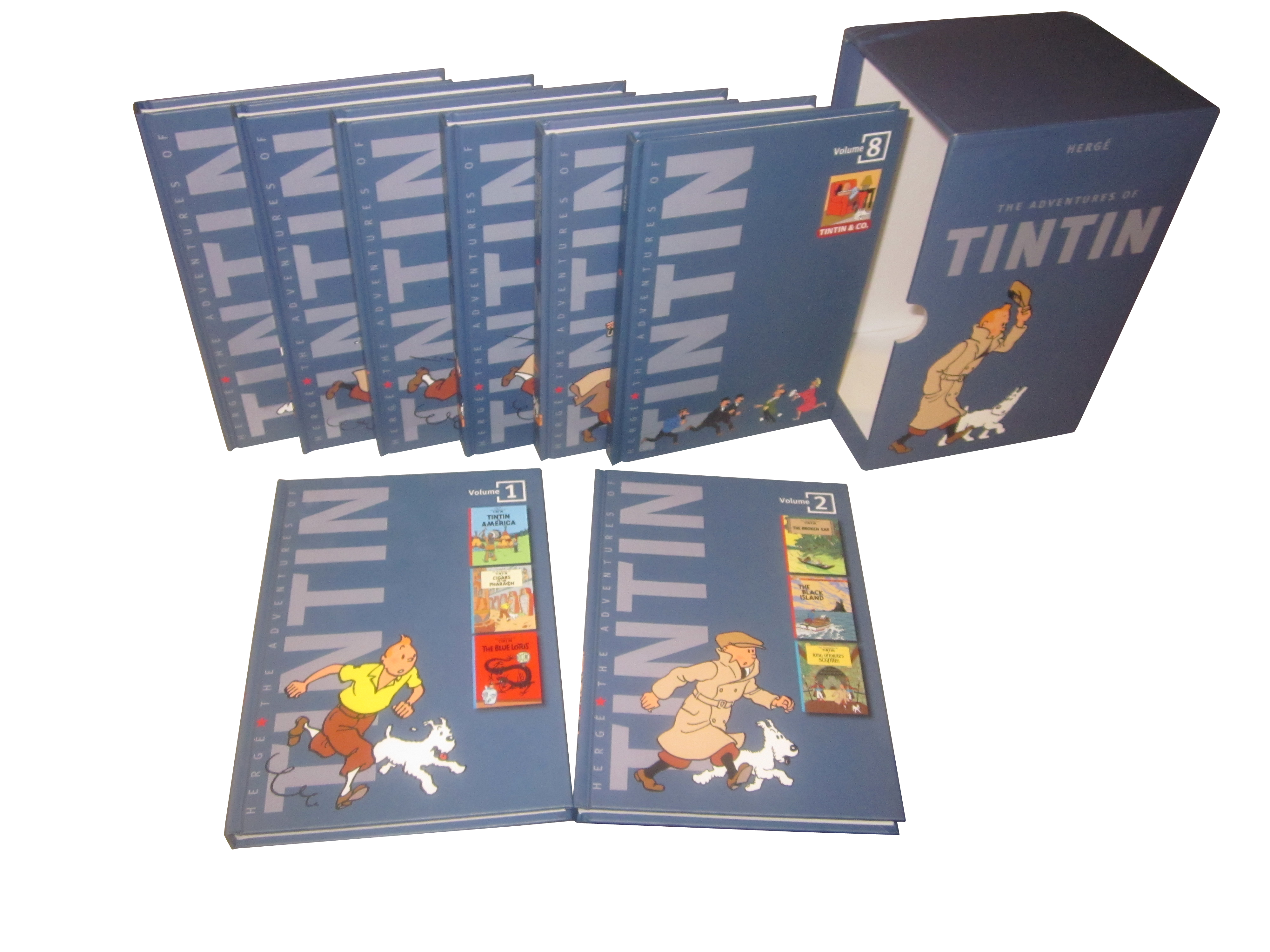 The Adventures of Tintin: Collector's Gift Set Herge