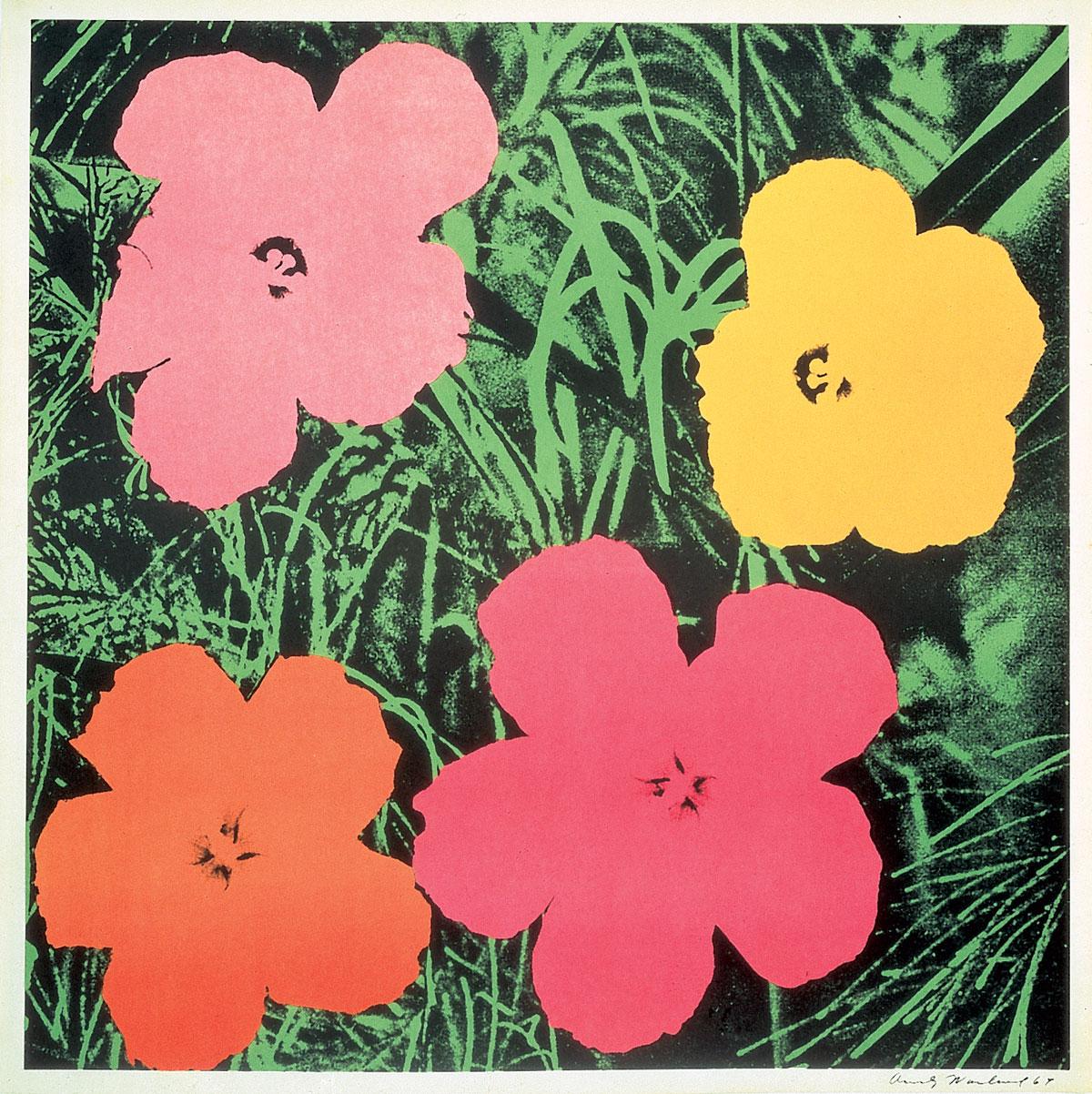 Andy Warhol   Flowers ...