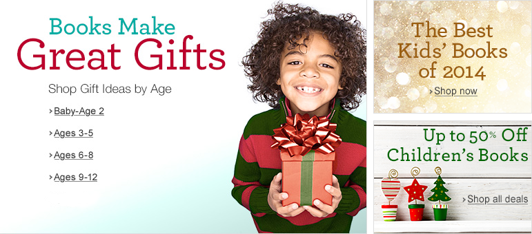 Books Make Great Gifts: Shop by age for the perfect present