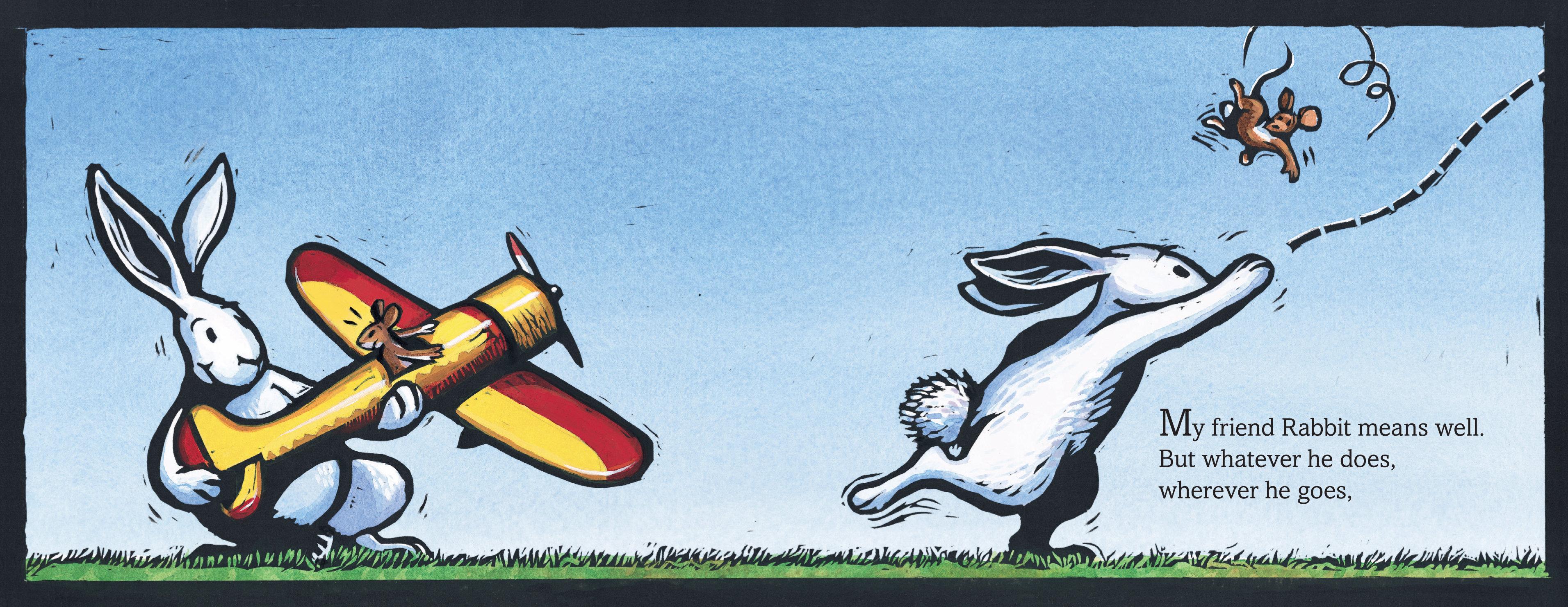 My Friend Rabbit: Eric Rohmann: 9780312367527: Amazon.com: Books