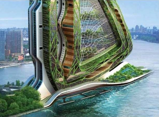The vertical farm feeding the world in the 21st century for Architecture vegetale