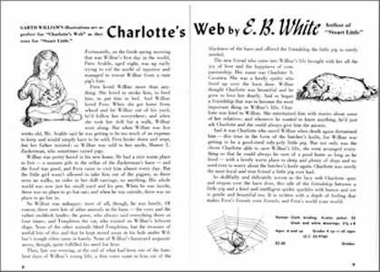 charlottes web book report questions