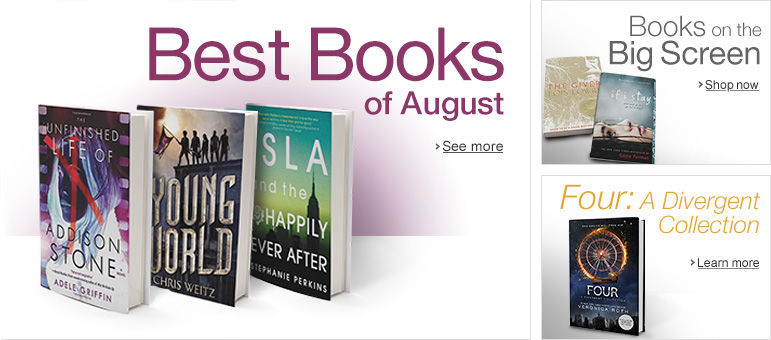 August Features for Teens