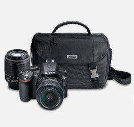 Save $280 on Nikon D3200 Digital SLR Camera Two Lens Bundle