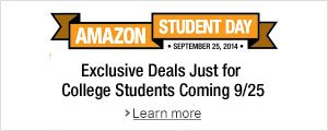 Get Ready for Amazon Student Day
