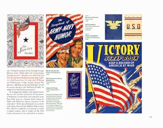 His Service Record, 1942; USO Scrapbook; Victory Scrapbook, 1942