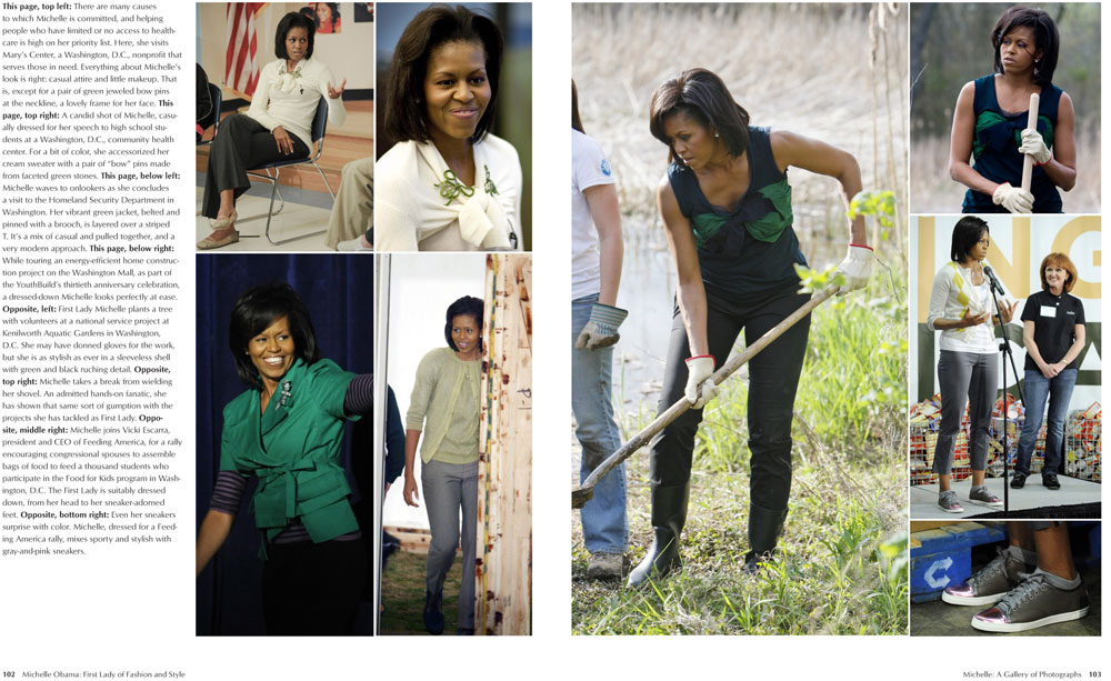 Michelle Obama: First Lady of Fashion and Style: Susan
