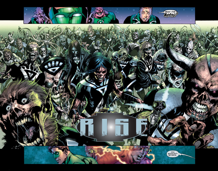 Amazon.com: Blackest Night (9781401229535): Geoff Johns, Ivan Reis