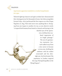 Encyclopedia of the Exquisite: Trapeze
