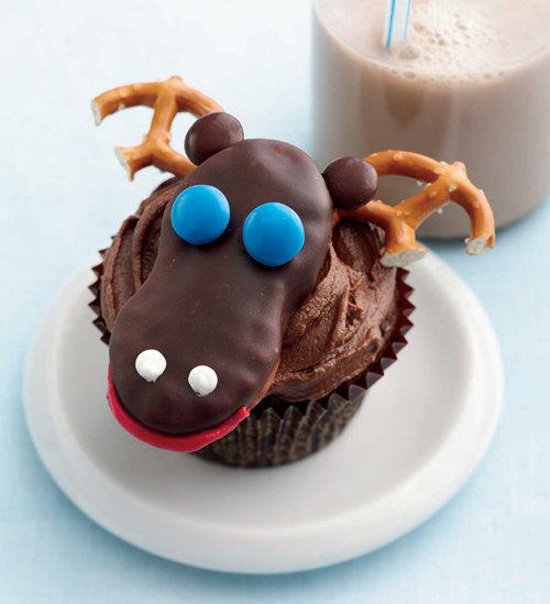 Moose+Cupcakes Moose Cupcakes