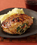 Stuffed Grilled Pork Chops