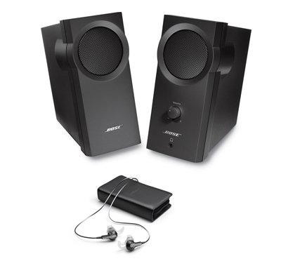 Bose Computer Speaker Headphone Bundle