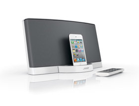 bose sounddock series ii 30 pin ipod iphone speaker dock gloss white discontinued. Black Bedroom Furniture Sets. Home Design Ideas