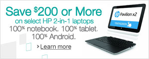 Save Now on HP Laptops