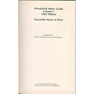 Woodwind Ensemble Music Guide
