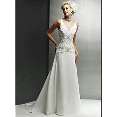 high fashion wedding gown