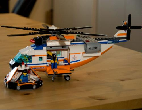 lego city police helicopter 7741 instructions