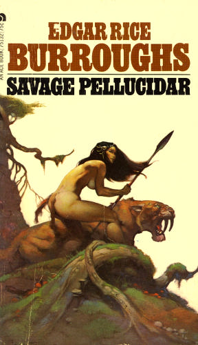 Image result for savage pellucidar cover art