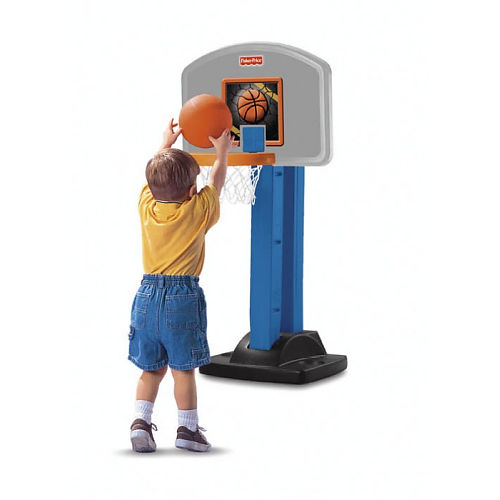 Amazon.com: Fisher-Price I Can Play Basketball: Toys & Games