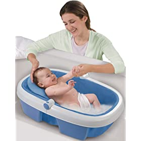 Summer Infant Newborn-To-Toddler Fold Away Baby Bath