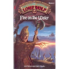 Fire on the Water (Lone Wolf, No. 2)