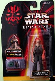 Star wars episode 1 jar jar binks action figure