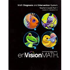 enVision Math Grades K-3: Booklet A-E (Math Diagnosis And Intervention System. Teacher's Guide Part 1)